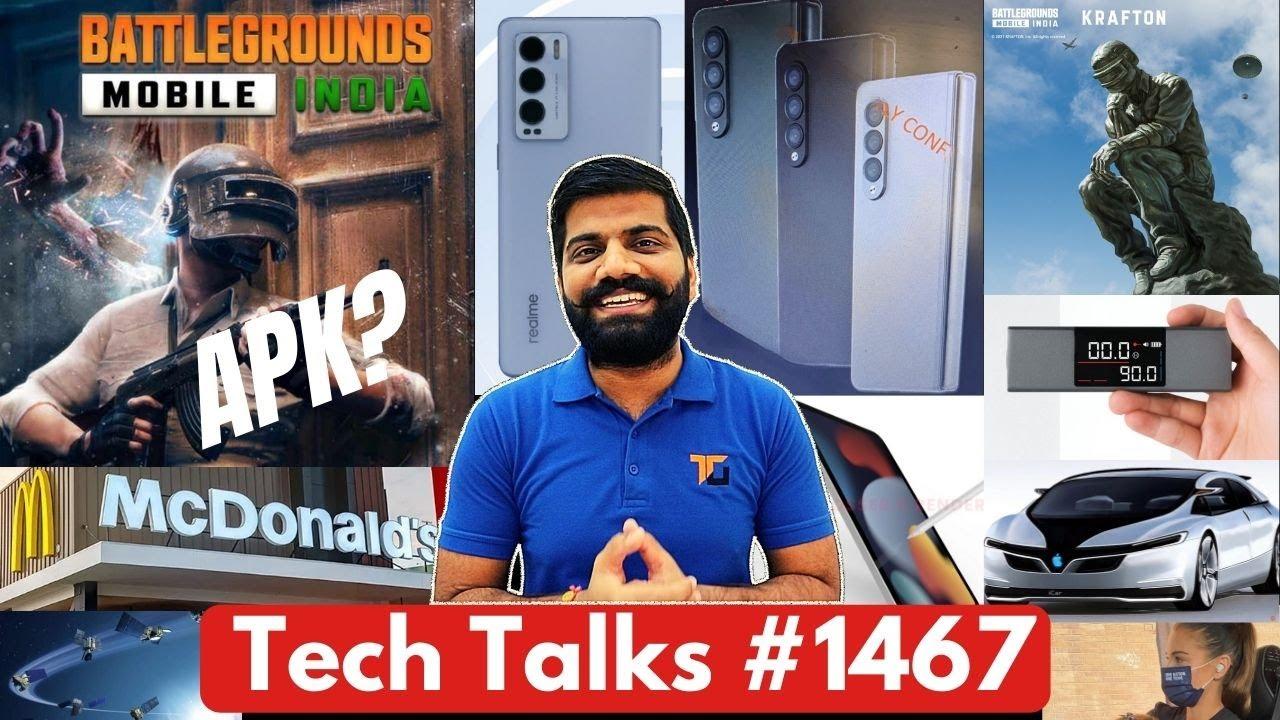 Tech Talks #1467 - BGMI Full APK & BGMI 2, MI New Flagship, StarLink Internet, McDonald's Hacked