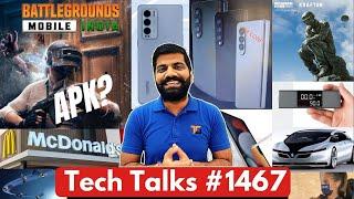 Tech Talks #1467 - BGMI Full APK \u0026 BGMI 2, MI New Flagship, StarLink Internet, McDonald's Hacked