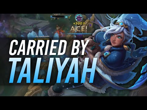 Imaqtpie - CARRIED BY TALIYAH ft. Pobelter
