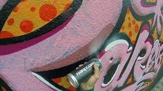 Graffiti - Rake43 - Pink Roller