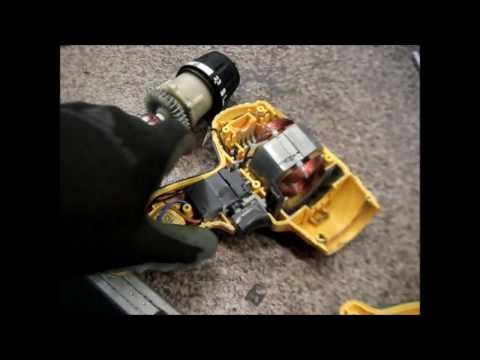 Ремонт редуктора сетевого шуруповерта, треск при работе\Repair of gear network screwdriver