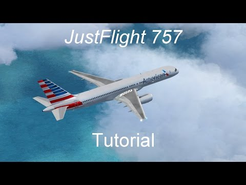 How to fly the JustFlight 757 - Systems beginners tutorial
