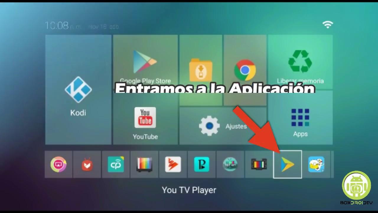 Tutorial para ver canales en You Tv Player en Tv Box