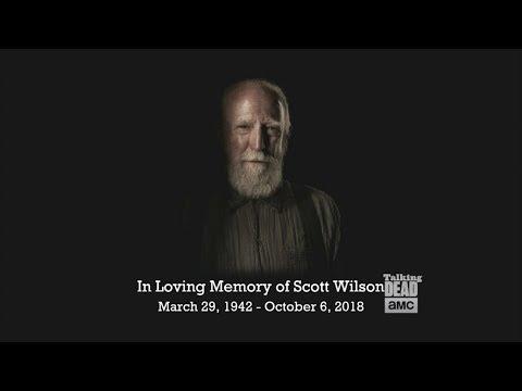Talking Dead  Chris Hardwick on Scott Wilson Hershel
