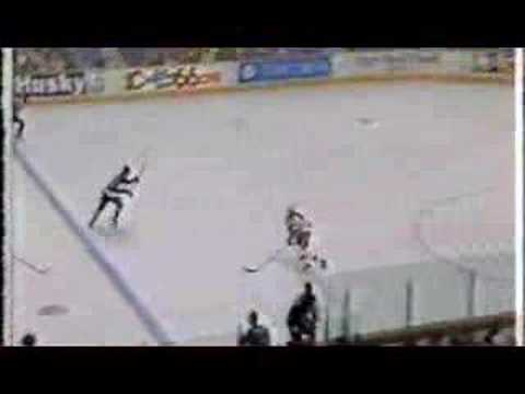 92-93 Playoffs Kings goals vs Flames (Round One)