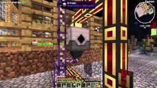 Minecraft ITnager play Agrarian Skies (54 серия) - Автоспаунер и навоз.