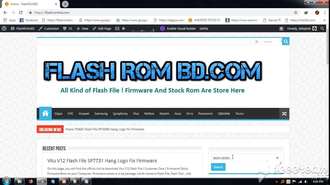 All Tecno Flash File