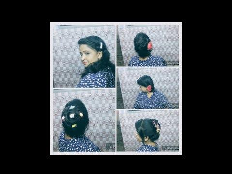 अपने आप आसानी से करे 5 हेयर स्टाइल । easy 5 hair style make yourself (hindi)