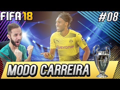 FIFA 18 MODO CARREIRA - NICE VS AUBAMEYANG,#08 [XBOX ONE]