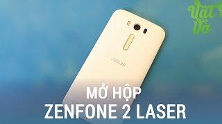 Vật Vờ| Mở hộp & đánh giá nhanh Asus Zenfone 2 Laser: Snapdragon 410, thiết kế không đổi