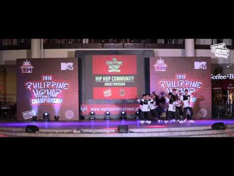 HIP HOP COMMUNITY (HHC) - Adult - 2016 Visayas Regional Championship