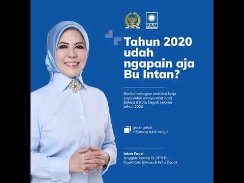 Tahun 2020 Udah Ngapain Aja Bu INTAN ?