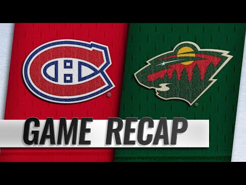Wild score four PPGs in 7-1 win over Canadiens