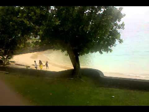 Sadies by the sea, Pago Pago American Samoa.