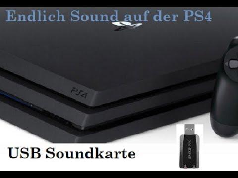 Endlich Sound auf der PS4, die Lösung für die Playstation 4