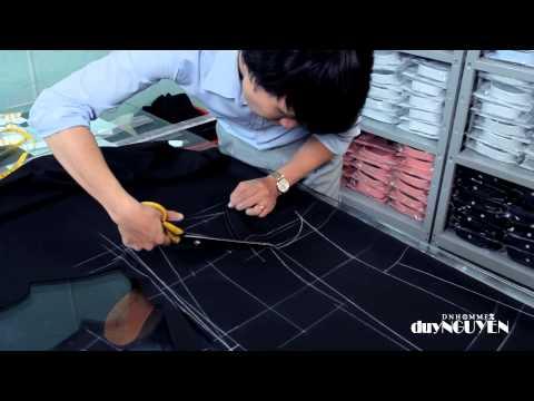 Veston Duy Nguyễn - P2.2 Chia sẻ cách thiết kế và cắt áo vest nam slim fit.