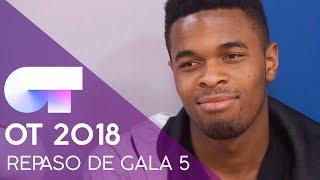 REPASO DE GALA | GALA 5 | OT 2018