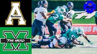 #23 Appalachian State vs Marshall   College Football Week 3   2020 College Football Highlights