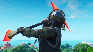 "NEW UNUSUAL SKIN ""DETERMINATION"" AND PICKAXE ""RED STRIPE""! Fortnite"