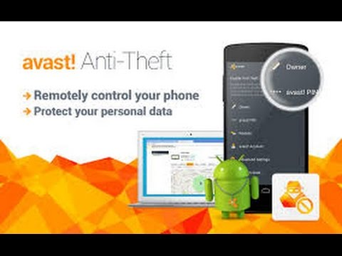 avast anti theft sms commands list