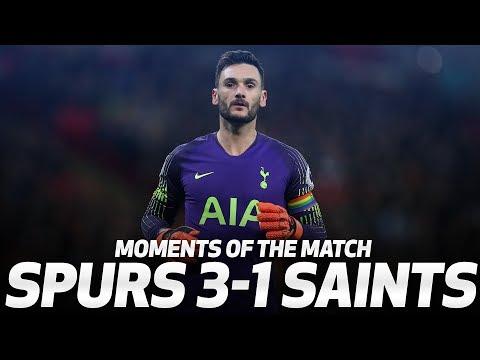 HUGO LLORIS MASTERCLASS | Moments of the Match | Spurs 3-1 Southampton