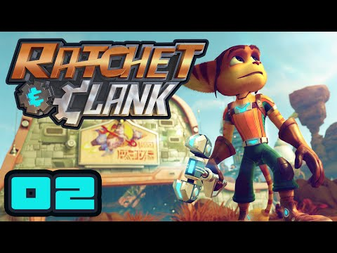 There Are Enemies On The Plateau! - Let's Play Ratchet & Clank (2016) - PS4 Gameplay Part 2