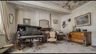 Abandoned House Of The Incredible Belgian Artist Pièrre 1984