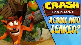 New ACTUAL Crash Bandicoot Leaks Emerge?