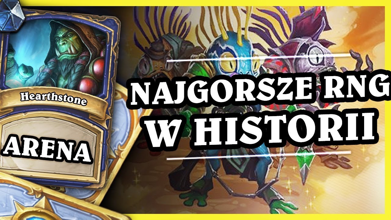 NAJGORSZE RNG W HISTORII – SHAMAN – Hearthstone Arena