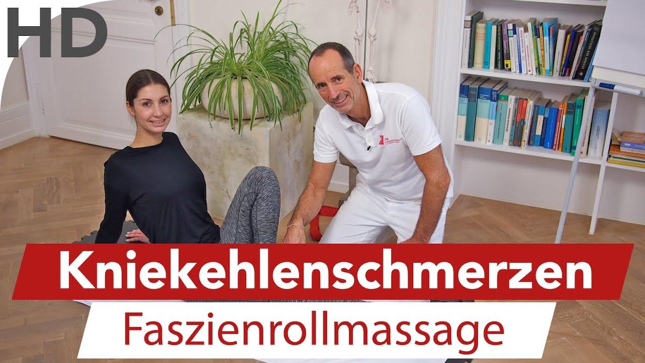 Knieschmerzen // Schmerzen in der Kniekehle, Knieübungen ...