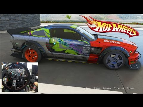 Forza 6 GoPro Hot Wheels Expansion HYPE!! Public Drift Hopper Bone Shaker/Mustang