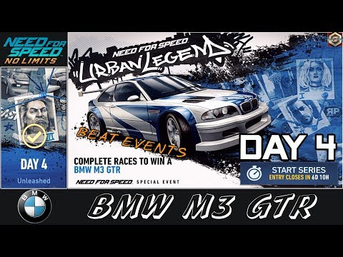 Need For Speed No Limits Urban Legend Day 1 Bmw M3 Gtr Walk