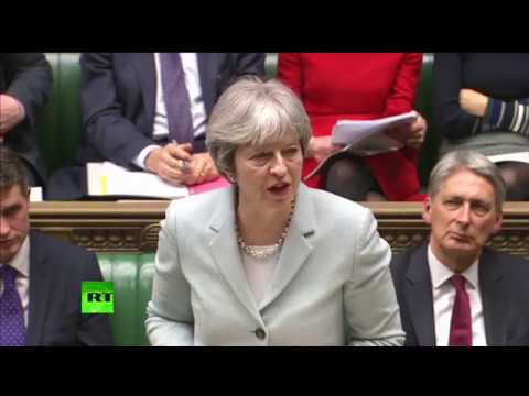 LIVE: Theresa May gives statement on Brexit to MPs