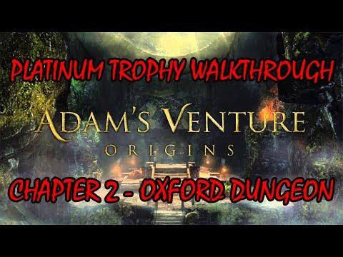 Adam's Venture Origins - Platinum Trophy Run - Ch 2 / Oxford Dungeon