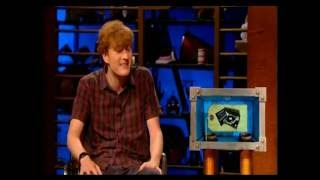 Room 101. James Acaster destroys 'Livin' on a Prayer'.