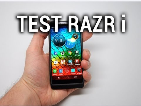 Test du Motorola RAZR i - par Test-Mobile.fr