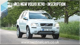 Volvo XC90 R-Design 4x4 D5 AWD - Walkaround & Features - Buy from Sentinel Volvo