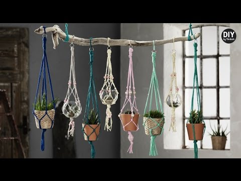 Diy By Panduro Trendy Hanging Pots Youtube