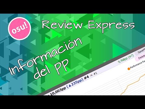 Osu! Review Express #5 | Información Del Pp