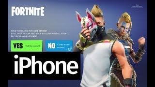 How to Download Fortnite Battle Royale app FREE - iPhone SE iPhone 6S iPhone 7 iPhone 8 iPhone X