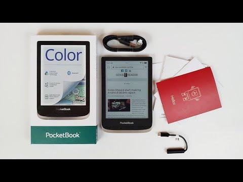 Pocketbook Color e-Reader Unboxing