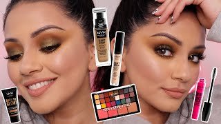 WATCH ME PAINT MY FACE WITH A FULL FACE OF NYX MAKEUP | KAUSHAL BEAUTY