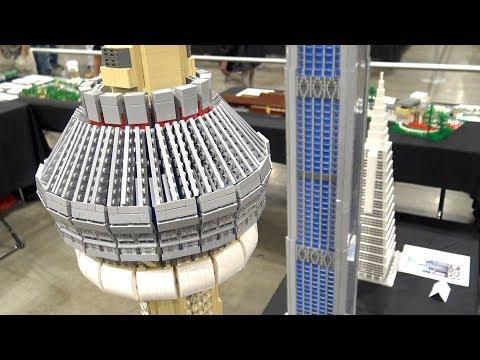 LEGO Skyscrapers And Frank Lloyd Wright's Gordon House