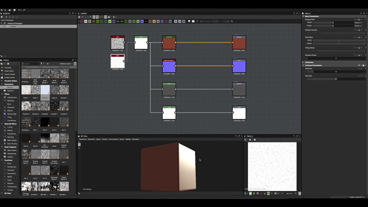 Create a leather material in Substance Designer | Creative Bloq