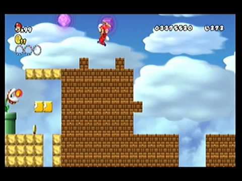 how to get to world 7 4 super mario wii