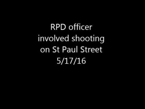 Rochester Police Officer involved shooting 5/17/16