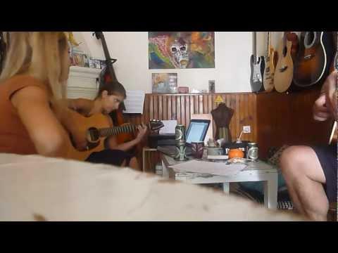 Megan Leonard, Danny Butler & Zoe Sarri live in lounge adele someone like you (cover)