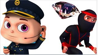Zool Babies Police & Thief - Part 5 | All Episodes | Cartoon Animation | Videogyan Kids Shows