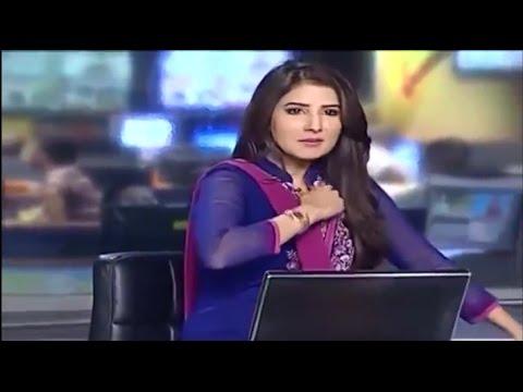 موقف محرج لـ مذيعة لم تنتبه أنها على الهواء +18 - !! What are you doing on air