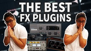 8 FX PLUGINS THAT I USE RELIGIOUSLY! THE BEST VST PLUGINS FOR BEATS!